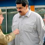 Despidió Raúl al Presidente Maduro