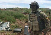 Un agente de las fuerzas especiales de Rusia