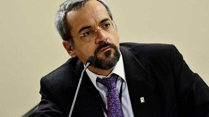 Ministro de Educación de Brasil Abraham Weintraub