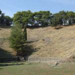 Restos del antiguo teatro griego