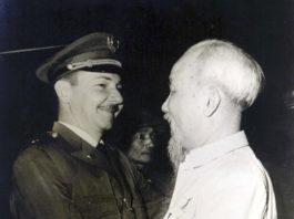 Raúl Castro y Ho Chi Minh