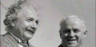 Einstein con Robert Millikan