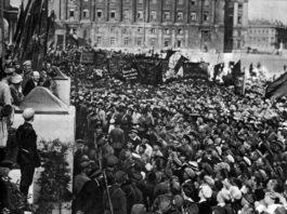 V.I. Lenin. II Congreso de Komintern.