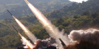 Ejercicio militar de Corea del Norte