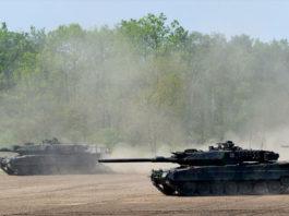 Tanques de la Fuerza Armada de Alemania