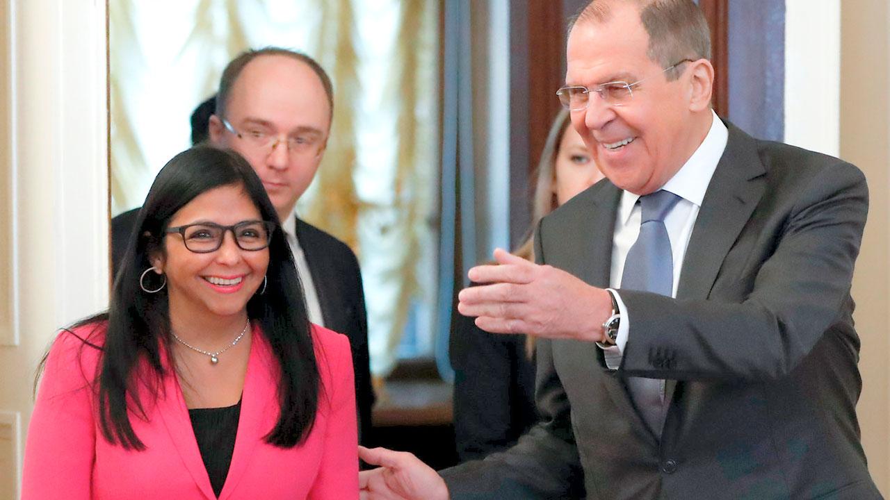 Delcy Rodríguez visitará Moscú esta semana y se reunirá con Lavrov