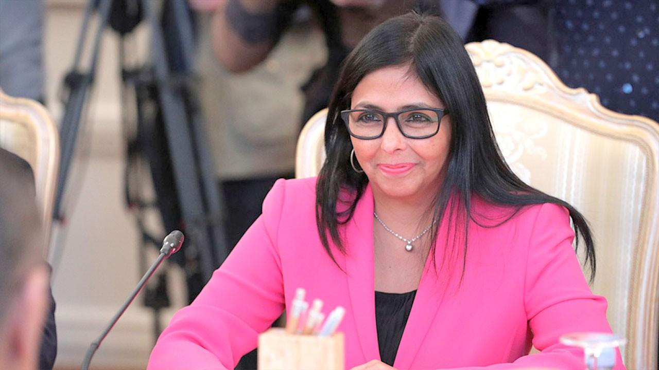 Vicepresidenta de Venezuela llegó a Moscú para reforzar lazos de hermandad