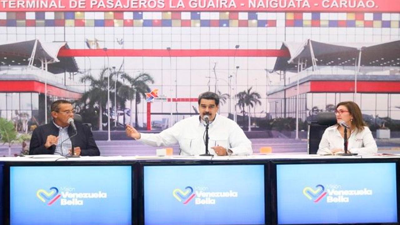 Presidente Nicolás Maduro confirma contacto con Gobierno de EE.UU.