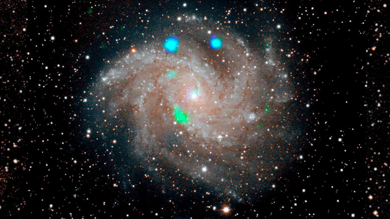 La NASA detecta una luz verde en el espacio antes de desaparecer a los pocos días.