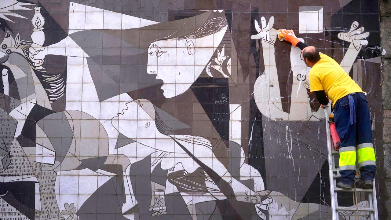 La ONU se disculpa ante España por una reseña 'errónea' sobre el 'Guernica' de Picasso.