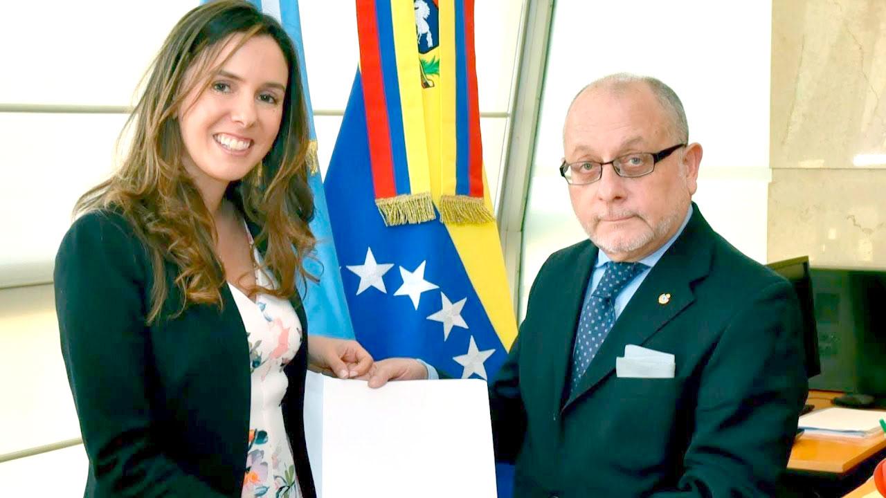 Macri reconoce a enviada de Guaidó como embajadora de Venezuela.