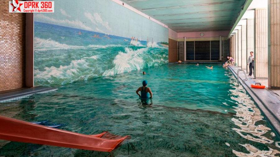 El balneario Changgwang cumple 40 años